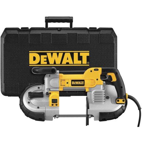 """Kit de scie à bande portative DEWALT DWM120K 10 A, coupe profonde, 5 pouces """"width"""", """"500"""" height = """"500"""" data-recalc-dims = """"1"""