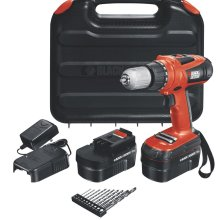 Perceuse haute performance 18 volts HPD18AK-2 de Black & Decker